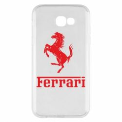 Чехол для Samsung A7 2017 логотип Ferrari