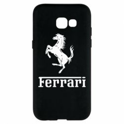 Чехол для Samsung A5 2017 логотип Ferrari