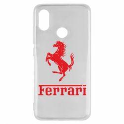 Чехол для Xiaomi Mi8 логотип Ferrari