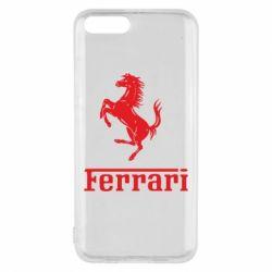 Чехол для Xiaomi Mi6 логотип Ferrari