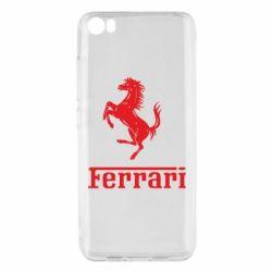 Чехол для Xiaomi Mi5/Mi5 Pro логотип Ferrari