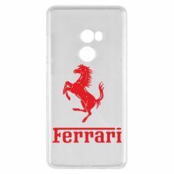 Чехол для Xiaomi Mi Mix 2 логотип Ferrari