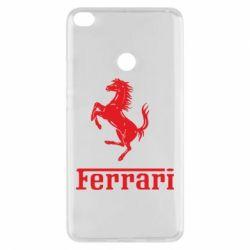 Чехол для Xiaomi Mi Max 2 логотип Ferrari
