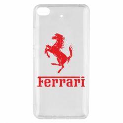 Чехол для Xiaomi Mi 5s логотип Ferrari