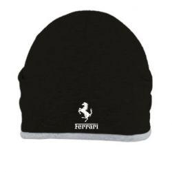 Шапка логотип Ferrari - FatLine