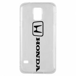 Чехол для Samsung S5 Логотип Honda