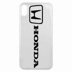 Чехол для iPhone Xs Max Логотип Honda