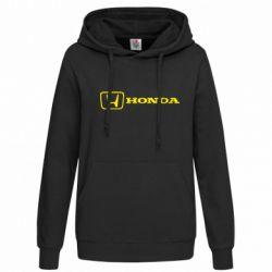 Женская толстовка Логотип Honda - FatLine