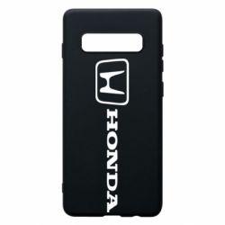 Чехол для Samsung S10+ Логотип Honda