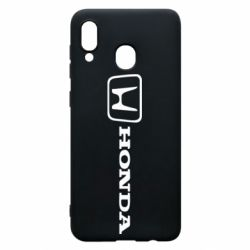 Чехол для Samsung A20 Логотип Honda