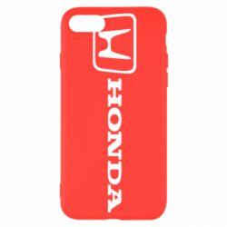 Чехол для iPhone 8 Логотип Honda