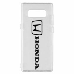Чехол для Samsung Note 8 Логотип Honda