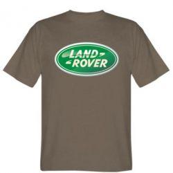 Мужская футболка Логотип Land Rover - FatLine