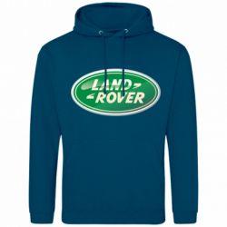Мужская толстовка Логотип Land Rover - FatLine