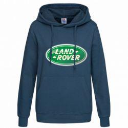 Женская толстовка Логотип Land Rover - FatLine