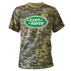 Камуфляжная футболка Логотип Land Rover - FatLine
