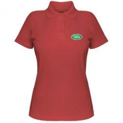Женская футболка поло Логотип Land Rover - FatLine