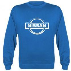 Реглан (світшот) логотип Nissan - FatLine