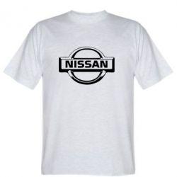 Мужская футболка логотип Nissan - FatLine