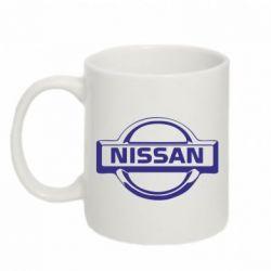 Кружка 320ml логотип Nissan - FatLine