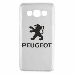 Чехол для Samsung A3 2015 Логотип Peugeot
