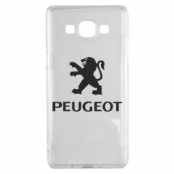 Чехол для Samsung A5 2015 Логотип Peugeot