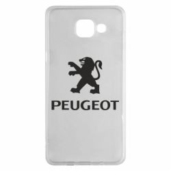 Чехол для Samsung A5 2016 Логотип Peugeot