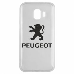 Чехол для Samsung J2 2018 Логотип Peugeot