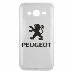 Чехол для Samsung J5 2015 Логотип Peugeot