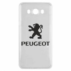 Чехол для Samsung J7 2016 Логотип Peugeot