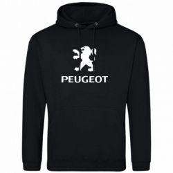 Мужская толстовка Логотип Peugeot