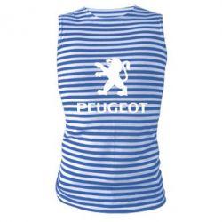 Майка-тельняшка Логотип Peugeot