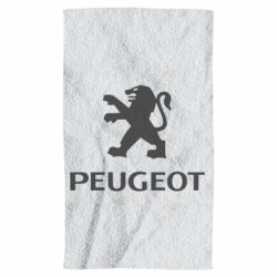 Полотенце Логотип Peugeot