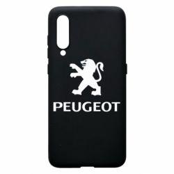 Чехол для Xiaomi Mi9 Логотип Peugeot