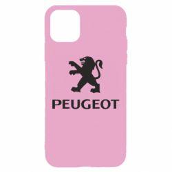 Чехол для iPhone 11 Логотип Peugeot