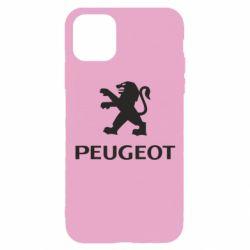 Чехол для iPhone 11 Pro Логотип Peugeot