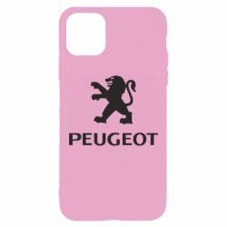 Чехол для iPhone 11 Pro Max Логотип Peugeot