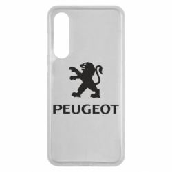 Чехол для Xiaomi Mi9 SE Логотип Peugeot