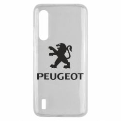 Чехол для Xiaomi Mi9 Lite Логотип Peugeot