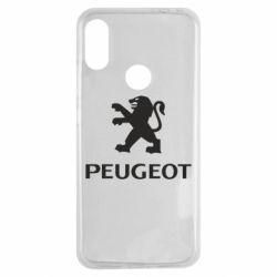 Чехол для Xiaomi Redmi Note 7 Логотип Peugeot