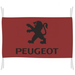 Флаг Логотип Peugeot
