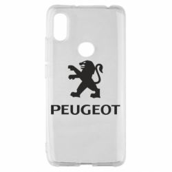 Чехол для Xiaomi Redmi S2 Логотип Peugeot