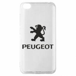 Чехол для Xiaomi Redmi Go Логотип Peugeot