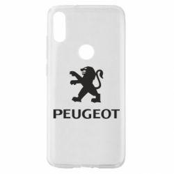 Чехол для Xiaomi Mi Play Логотип Peugeot