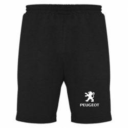 Мужские шорты Логотип Peugeot