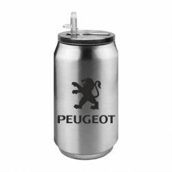 Термобанка 350ml Логотип Peugeot