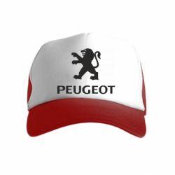 Детская кепка-тракер Логотип Peugeot