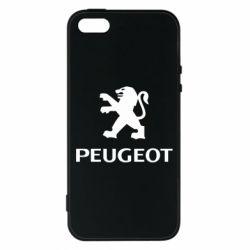 Чехол для iPhone5/5S/SE Логотип Peugeot