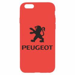 Чехол для iPhone 6/6S Логотип Peugeot