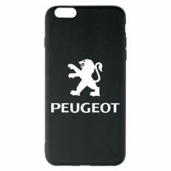 Чехол для iPhone 6 Plus/6S Plus Логотип Peugeot
